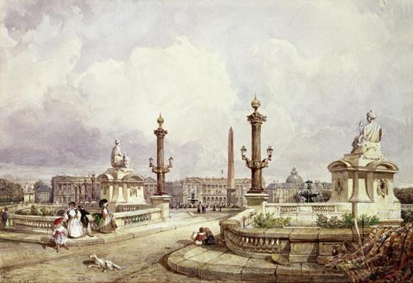 The Place de la Concorde, c.1837