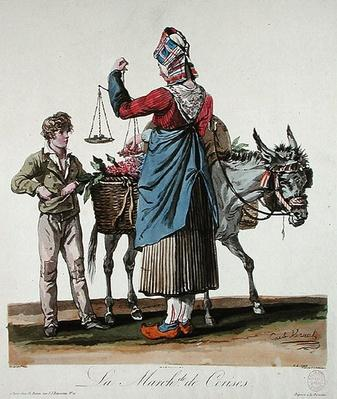 The Cherry Seller, engraved by Philibert Louis Debucourt