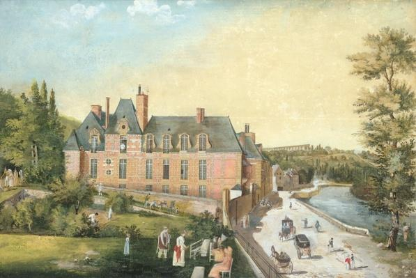 The Chateau de la Chaussee, Bougival