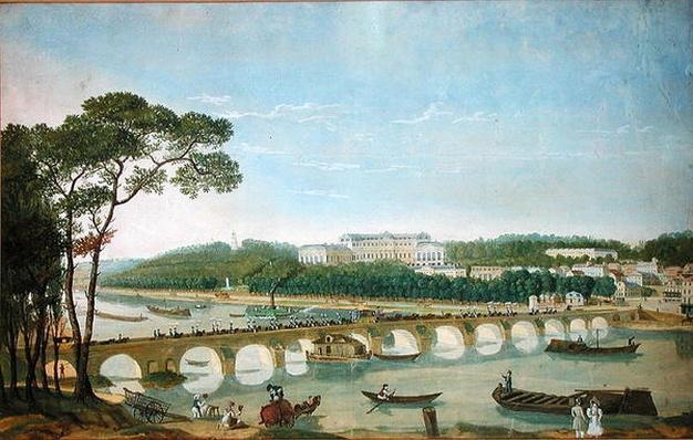Visit of the King and Queen of Naples to the Chateau de Saint-Cloud, May 1830