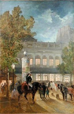 The Theatre Gymnase, Evening