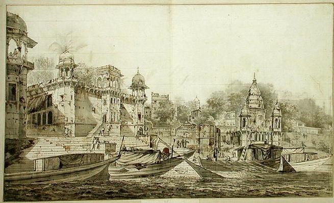 View of Part of the City of Benares, c.1781