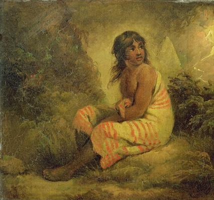 Indian Girl, 1793