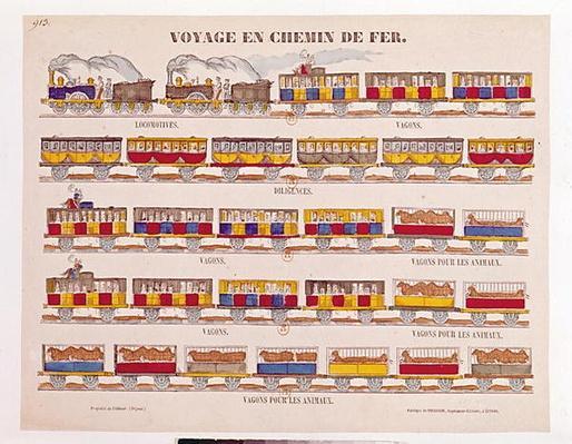 Rail Travel in 1845