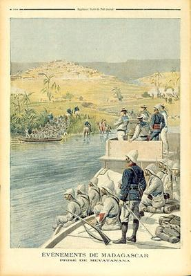 Events in Madagascar: The Capture of Mevatanana, illustration from 'Le Petit Journal', 30th June 1895