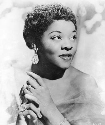 Portrait Of Jazz Singer Dinah Washington | African-American History