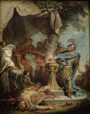 Mucius Scaevola before Porsenna