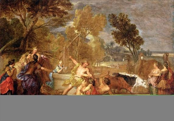 Moses and the Daughters of Jethro