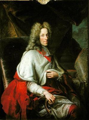 Portrait of Cardinal Joseph Clement de Baviere, Elector of Cologne