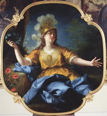 Portrait of a Woman as Minerva, 1730