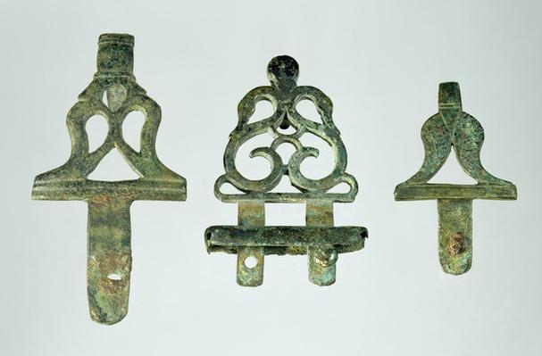 Belt hooks, from Chalons-sur-Marne, Tene II