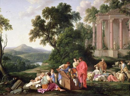 Laban Searching for the Idols, 1647