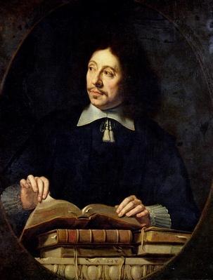 Portrait presumed to be Etienne Delafons, 1648