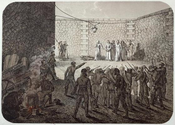 Execution of Hostages During the Commune, 1871