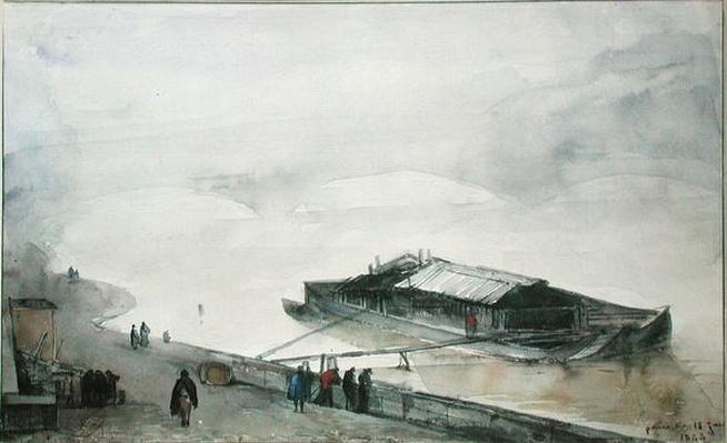 The Seine, 1843