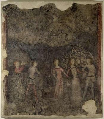 A Carole, c.1380-90