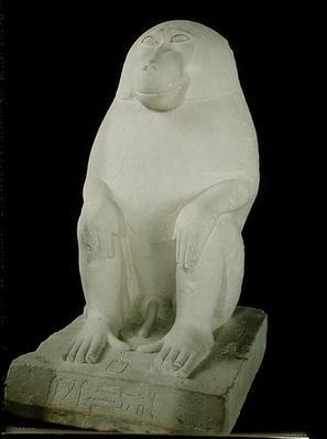Baboon, Middle Kingdom, possibly 7th Dynasty