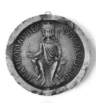 Seal of Louis VII