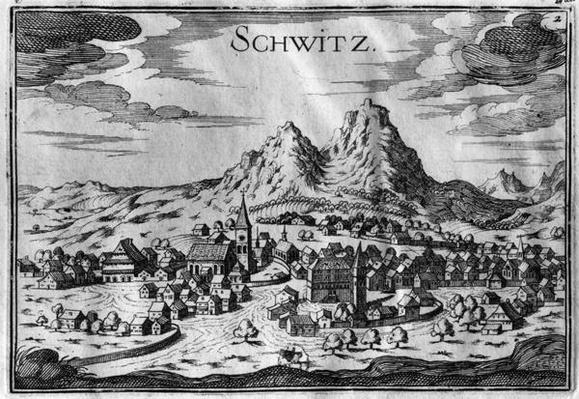 View of Schwyz