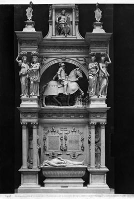 Reproduction of the tomb of Louis de Breze