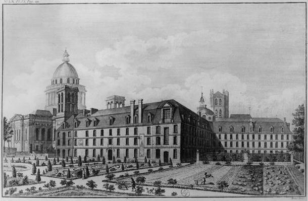Abbey Saint-Genevieve, Paris