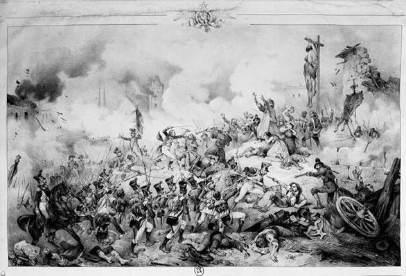 The Siege and capture of Saragossa, 1809