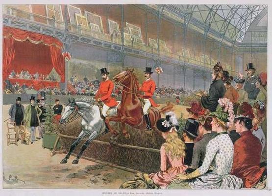 A Horse Race, 1886