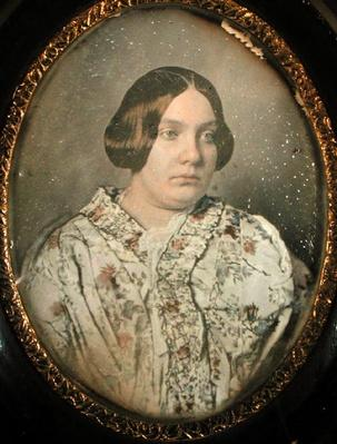 Portrait of an unknown woman, 1850