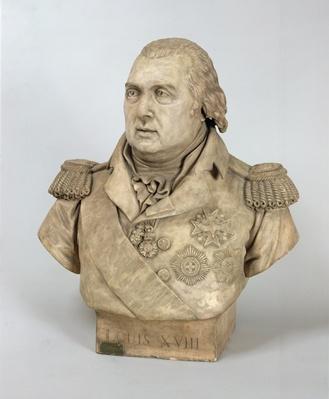 Bust of Louis XVIII