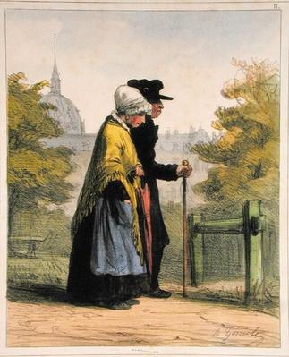 The Woman of the Invalides, from 'Les Femmes de Paris', 1841-42