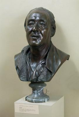 Bust of Denis Diderot