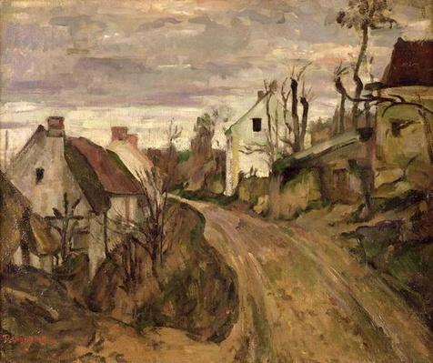 The Village Road, Auvers, c.1872-73