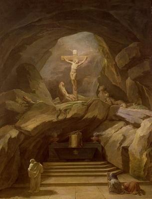 Study for the Chapelle du Calvaire in the Eglise de Saint-Roch