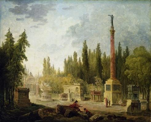 The Garden of the Musee des Monuments Francais, 1795-1808
