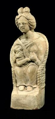 Mother goddess, from Macon, Burgundy