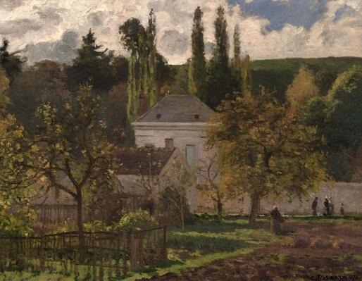House in the Hermitage, Pontoise, 1873