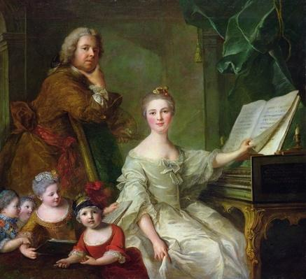The Artist and his Family, 1730-62