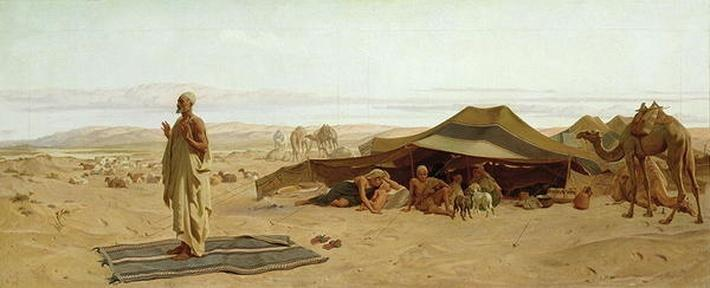 Evening Prayer in the West, 1872
