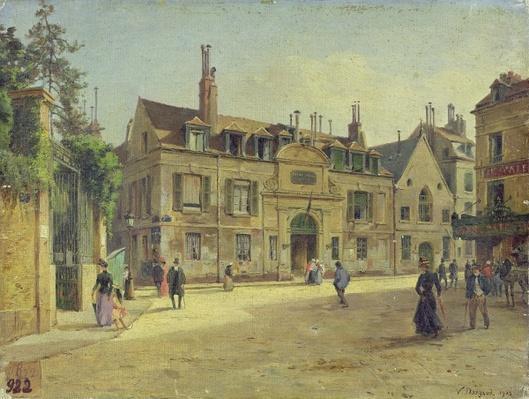 The Hopital de la Salpetriere, Paris, 1904