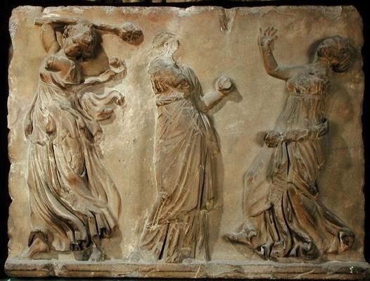 Three Bacchantes, 336-30 BC
