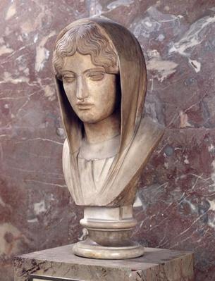 Head of a woman known as Aspasia of Miletos