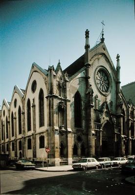 The Church of St. Eugene, built in 1855
