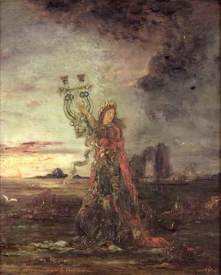Arion, 1891 by Moreau, Gustave (1826-98)