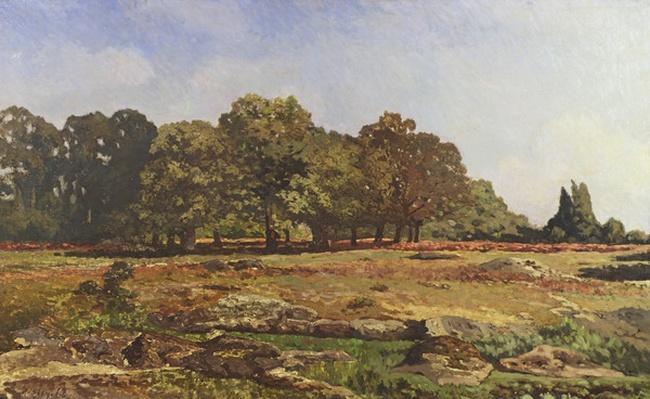 Avenue of Chestnut Trees at La Celle-Saint-Cloud, c.1866-67