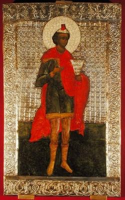 Icon of the Prophet Daniel, Moscow School