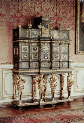 Louis XIV jewellery cabinet, Gobelins Workshop, c.1685