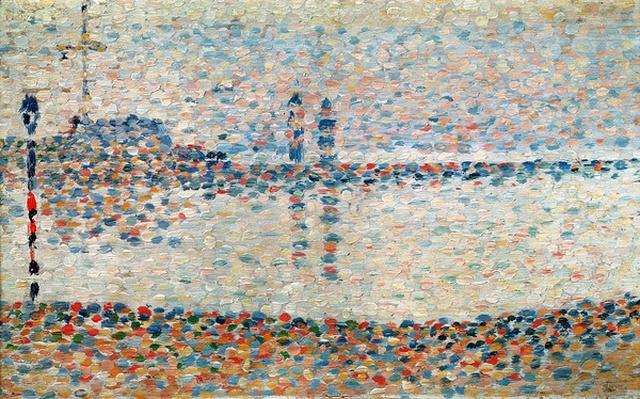 Study for 'The Channel at Gravelines, Evening', 1890