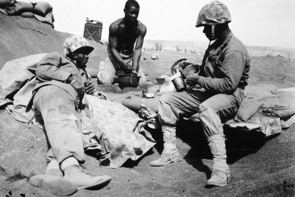 Black U.S. Marines at Iwo Jima  | African-American History