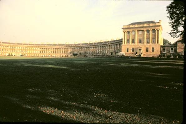 Royal Crescent, Bath, 1767-75