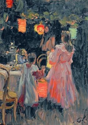 Chinese Lanterns, 1910
